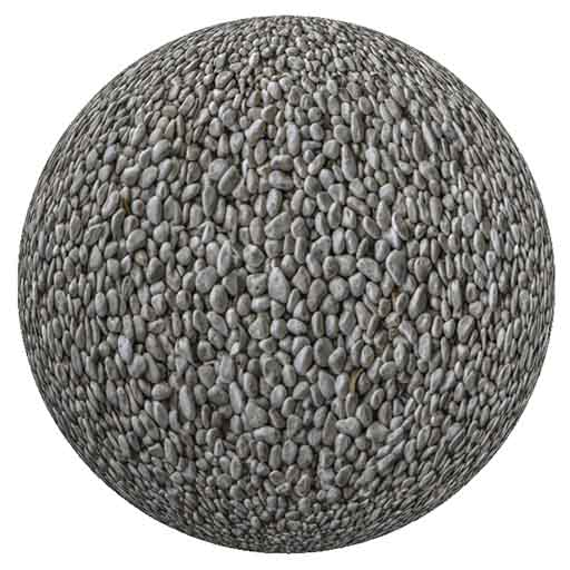 Free Seamless Gravel Ground Texture